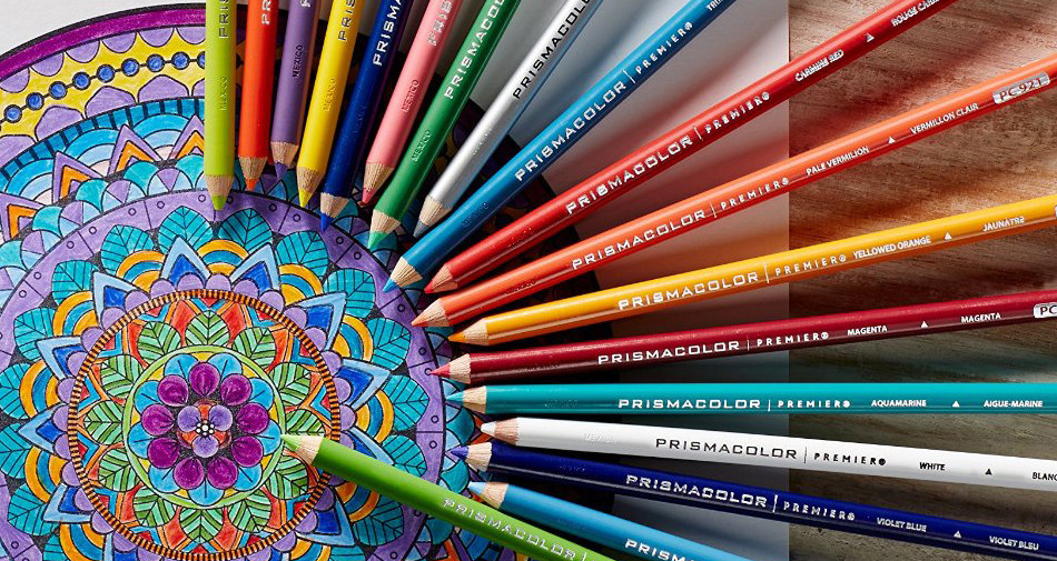 Colored Pencil Coloring Books  The coolest free coloring pages for adults