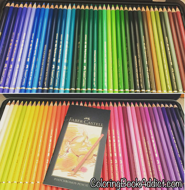 Colored Pencil Coloring Books  Best Colored Pencils Adult Coloring Supplies for Coloring