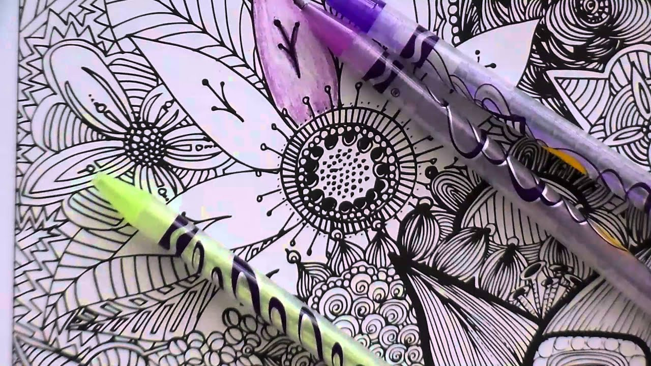 Colored Pencil Coloring Books  Adult Coloring Books and Crayola Twisted Colored Pencils
