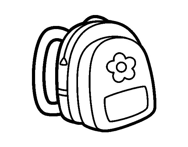 Coloring Book Bag  Backpack Coloring Pages Bestofcoloring