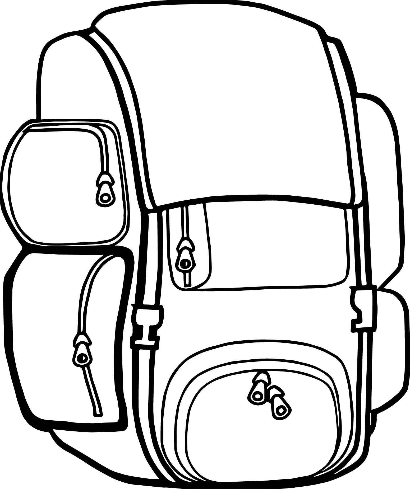 Coloring Book Bag  Free Coloring Pages For Girls Minion Backpacks For School
