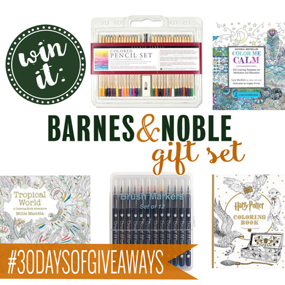 Coloring Book Barnes And Noble  Win It A Coloring Gift Set from Barnes & Noble Daily Mom