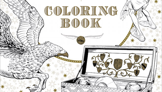 Coloring Book Barnes And Noble  5 Literary Coloring Books for Everyone on Your List