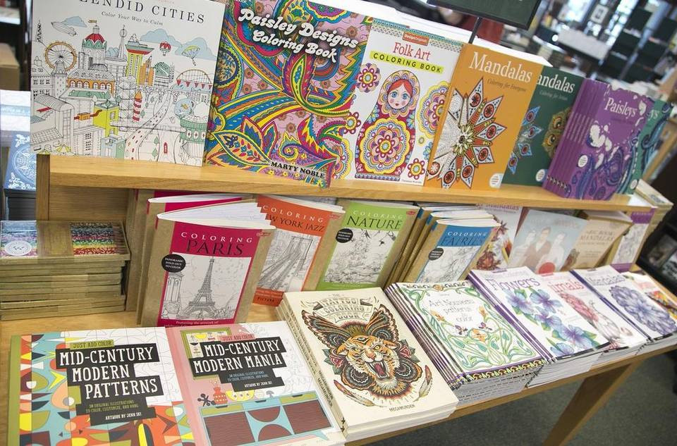 Coloring Book Barnes And Noble  Not just child's play Coloring books for adults take off