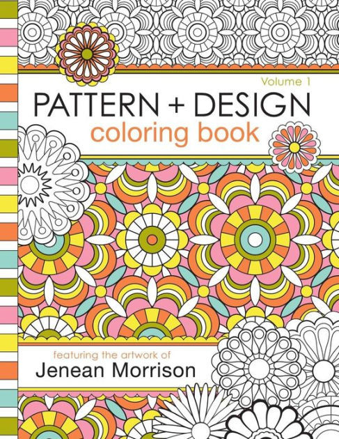Coloring Book Barnes And Noble  Pattern and Design Coloring Book by Jenean Morrison