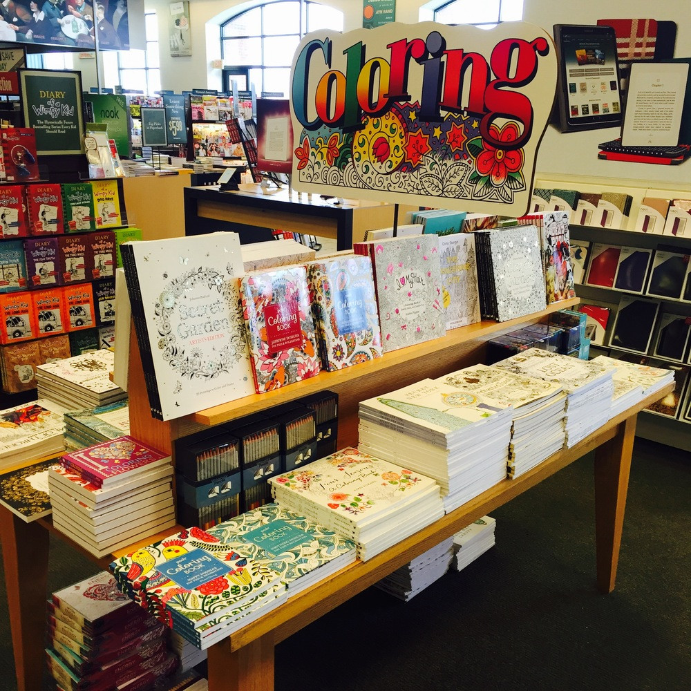 Coloring Book Barnes And Noble  A Magician in Barnes and Noble — The Jerx