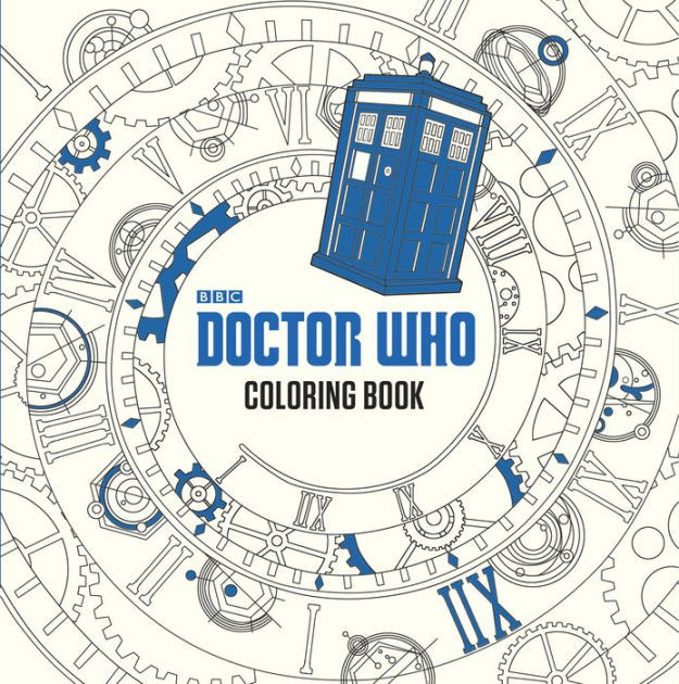 Coloring Book Barnes And Noble  Doctor Who Coloring Book by Price Stern Sloan Paperback