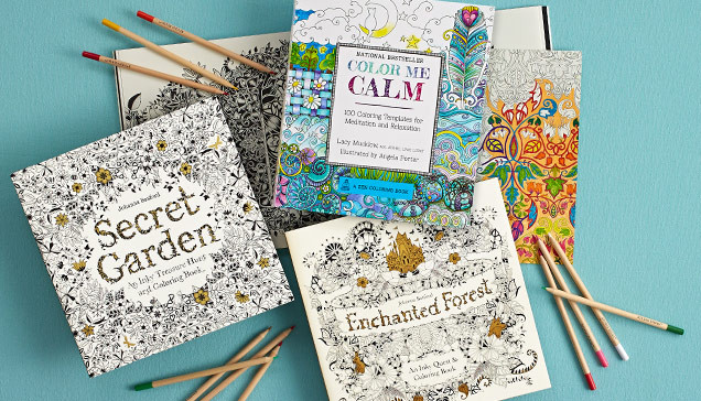 Coloring Book Barnes And Noble  These Irresistible Coloring Books Will Delight Artists of