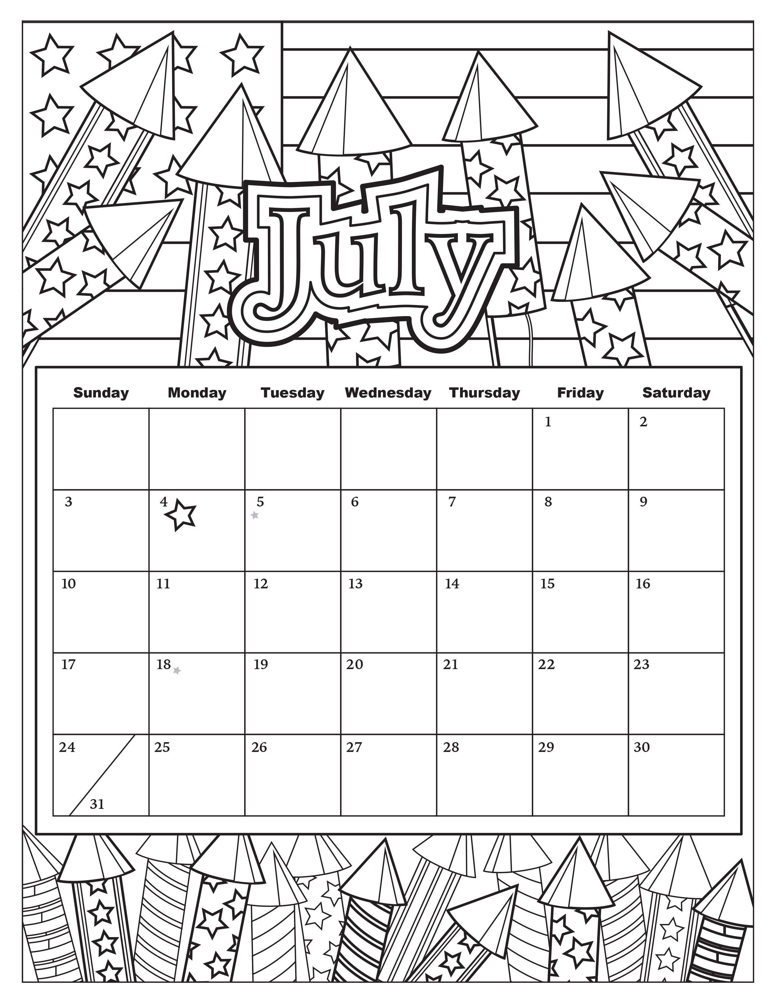 Coloring Book Calendars  Free Download Coloring Pages from Popular Adult Coloring