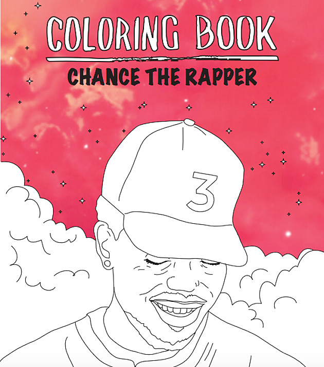 Coloring Book Chance The Rapper  Chance The Rapper s Coloring Book Gets Actual Coloring