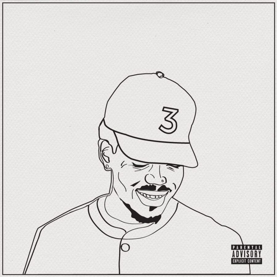 "Coloring Book Chance The Rapper  Chance the Rapper artfully paints canvas in ""Coloring Book"