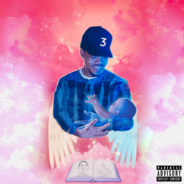 Coloring Book Chance The Rapper  Coloring Book Cover Art Chance The Rapper