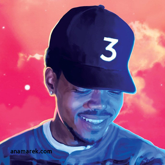 Coloring Book Chance The Rapper Vinyl  Coloring Book Chance The Rapper Vinyl coloring page