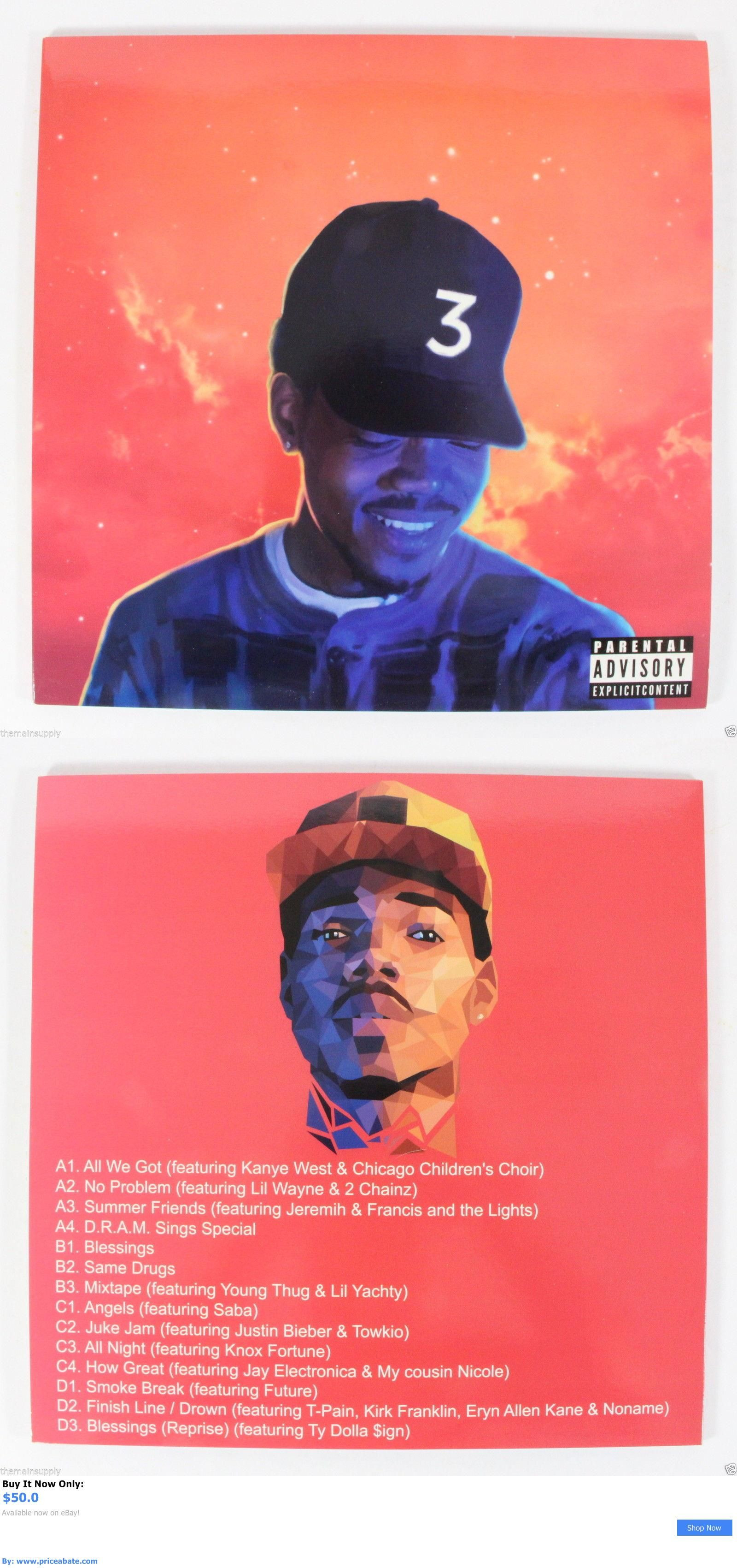 Coloring Book Chance The Rapper Vinyl  Music Albums Chance The Rapper Coloring Book [2Lp