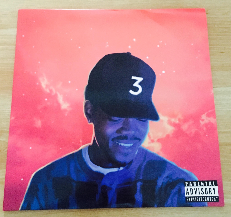 Coloring Book Chance The Rapper Vinyl  Rough Trade Nottingahm 10 8 16 Chance the Rapper
