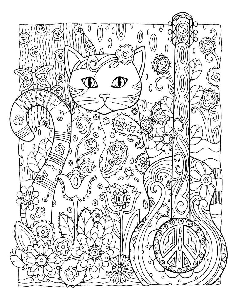 Coloring Book For Adults  Cool Coloring Pages For Adults Cool Coloring Pages Cool