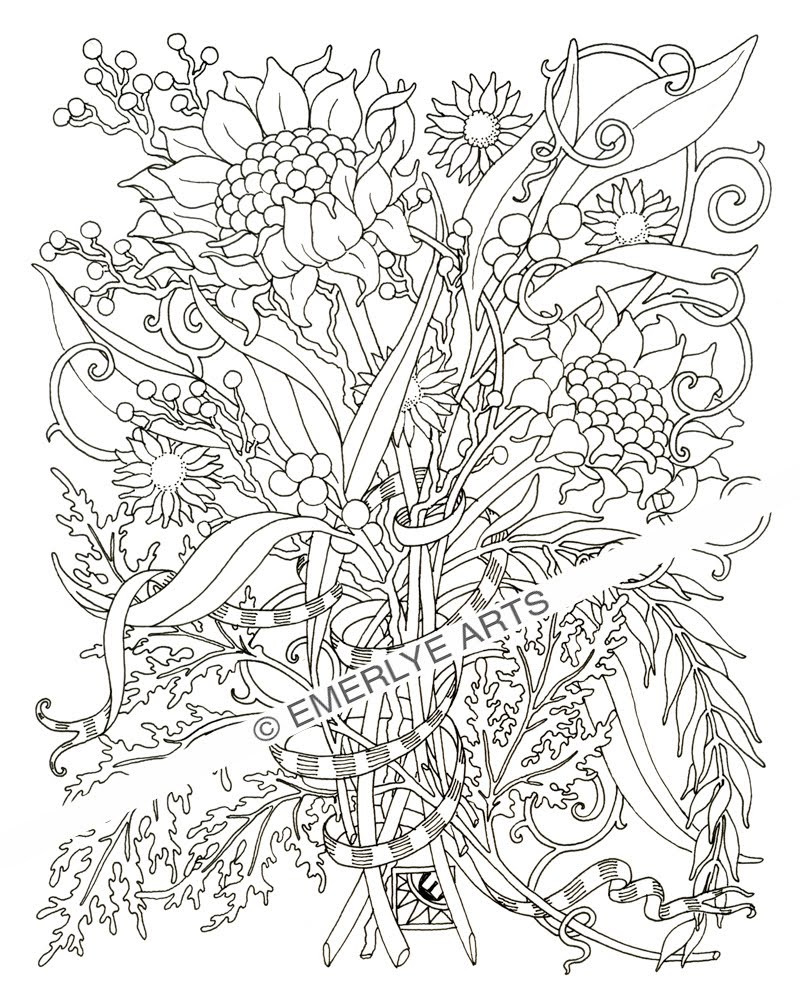Coloring Book For Adults  free coloring pages for adults