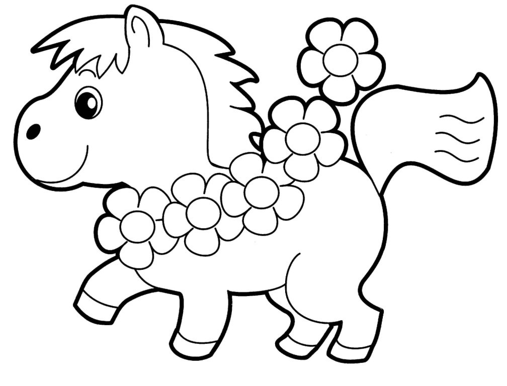 Coloring Book For Kids Animals  Animal Coloring Pages 20