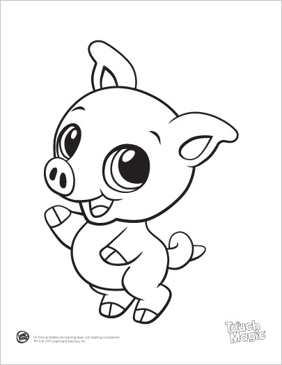 Coloring Book For Kids Animals  Free Coloring Pages Baby Animal Farm 265