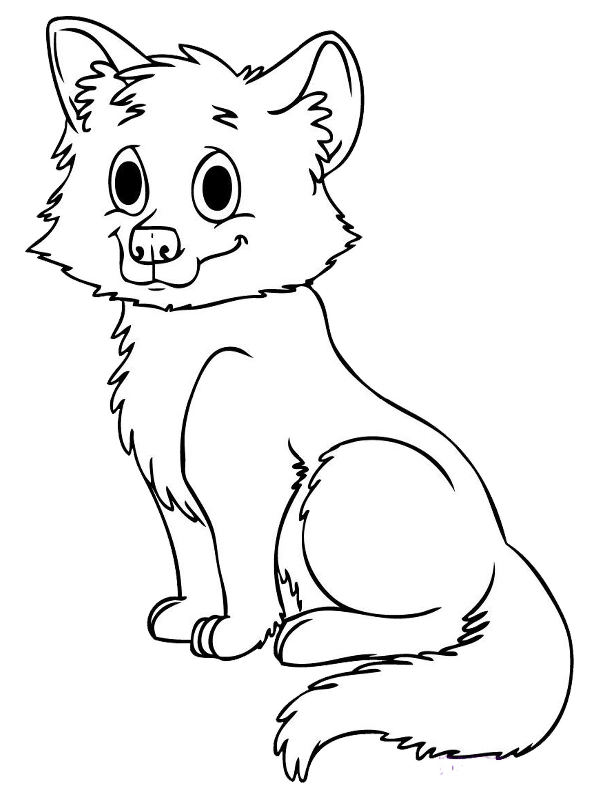 Coloring Book For Kids Animals  Baby Animal Coloring Pages