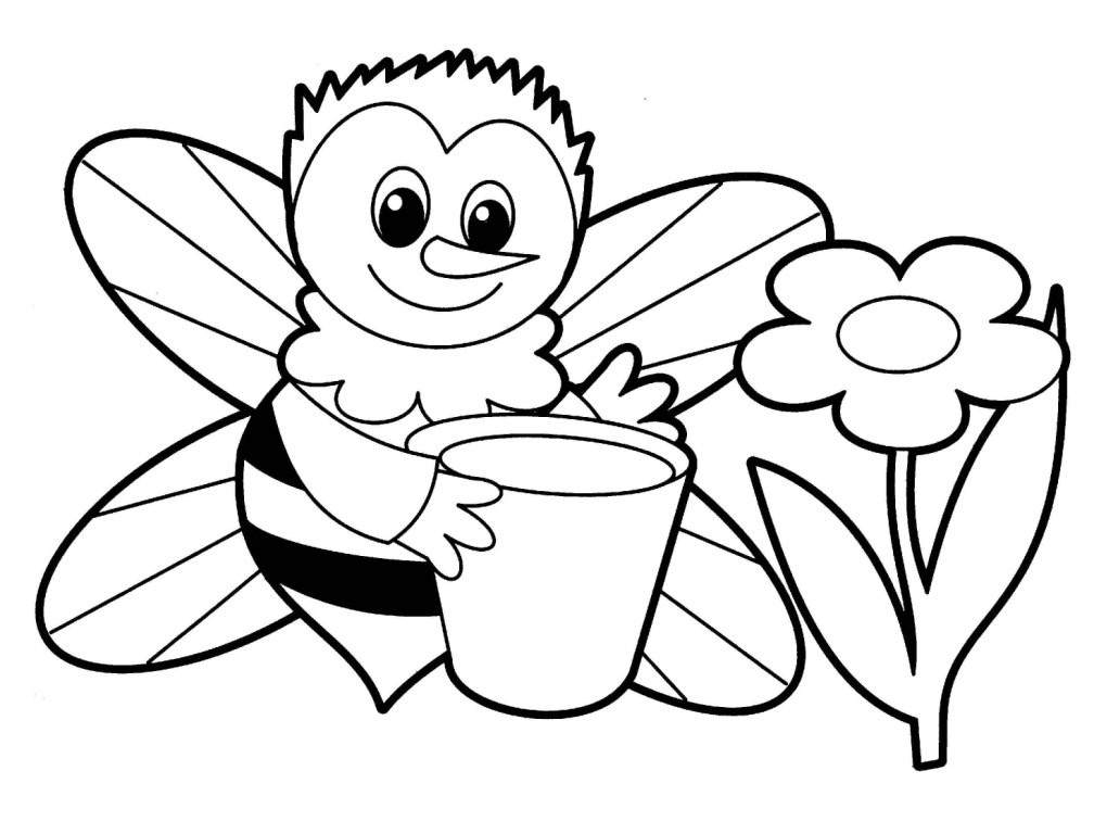 Coloring Book For Kids Animals  Free Printable Coloring Pages for Kids Animals