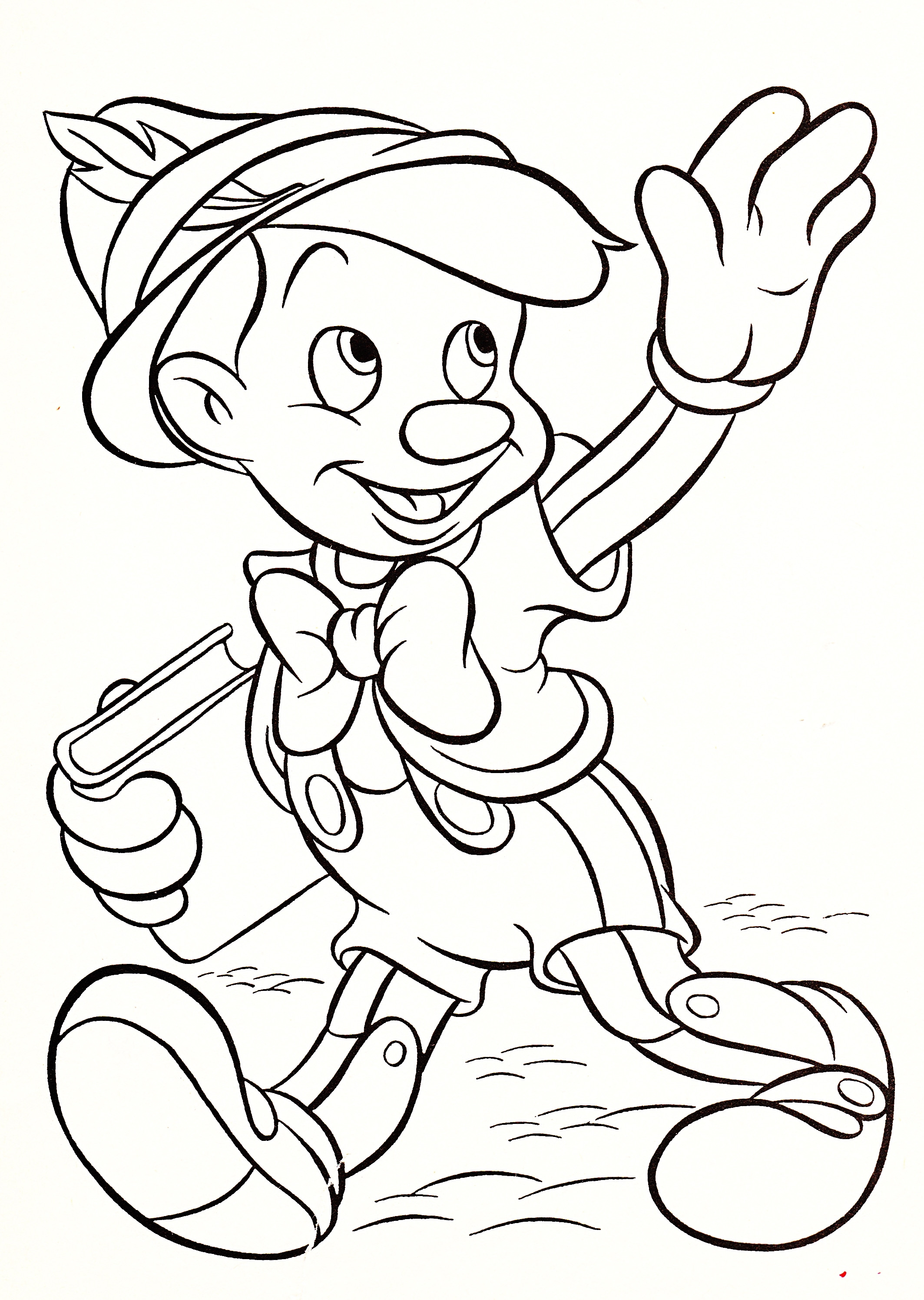 Best ideas about Coloring Book For Kids Disney . Save or Pin Colouring Pages Disney Characters Printable The Color Panda Now.