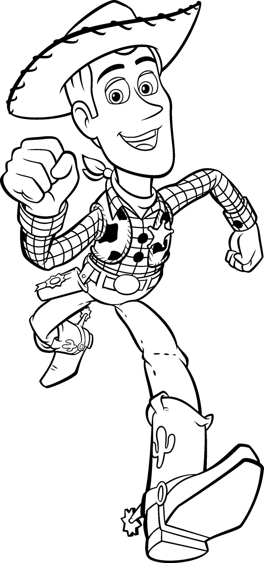 Best ideas about Coloring Book For Kids Disney . Save or Pin Free Printable Toy Story Coloring Pages For Kids Now.