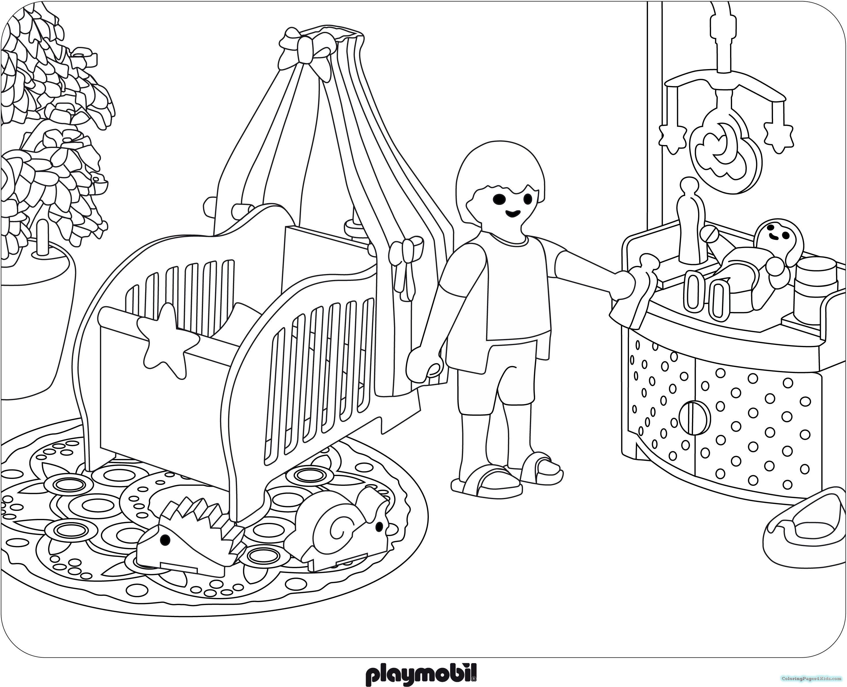 Coloring Book Page  Dragon Playmobil Coloring Pages