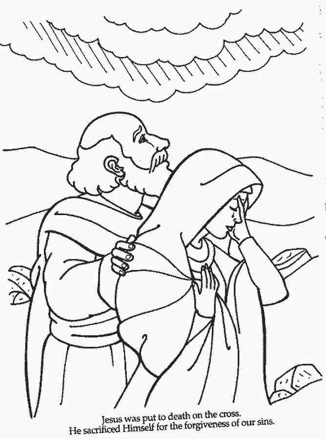 Coloring Book Pages Bible  Free Printable Bible Coloring Pages For Kids