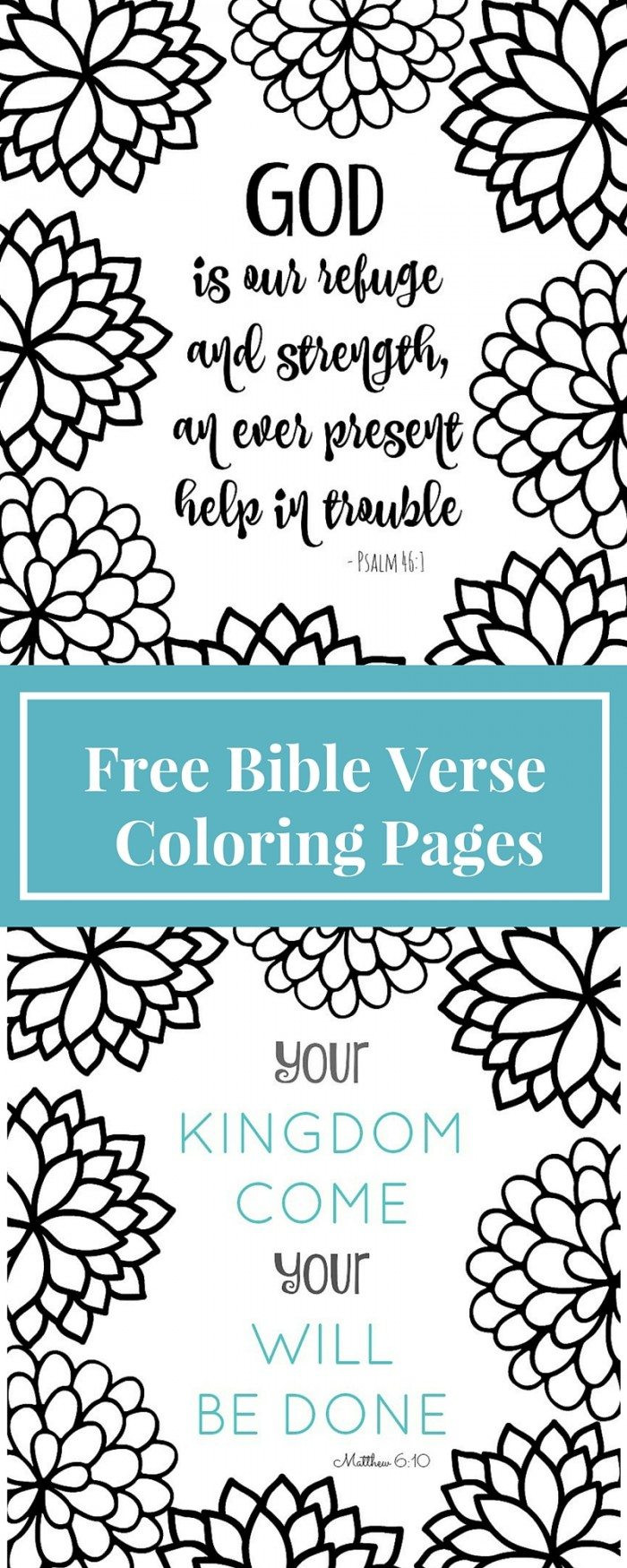 Coloring Book Pages Bible  FREE Bible Verse Coloring Pages