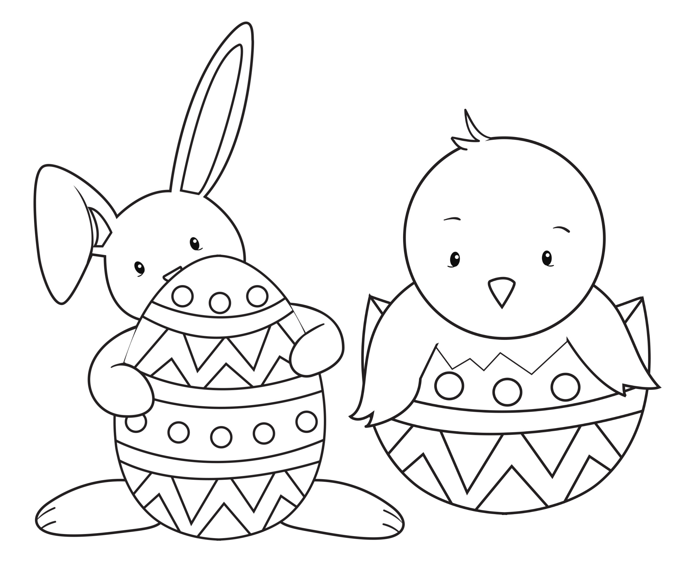 Coloring Book Pages Easter  Easter Coloring Pages for Kids Crazy Little Projects