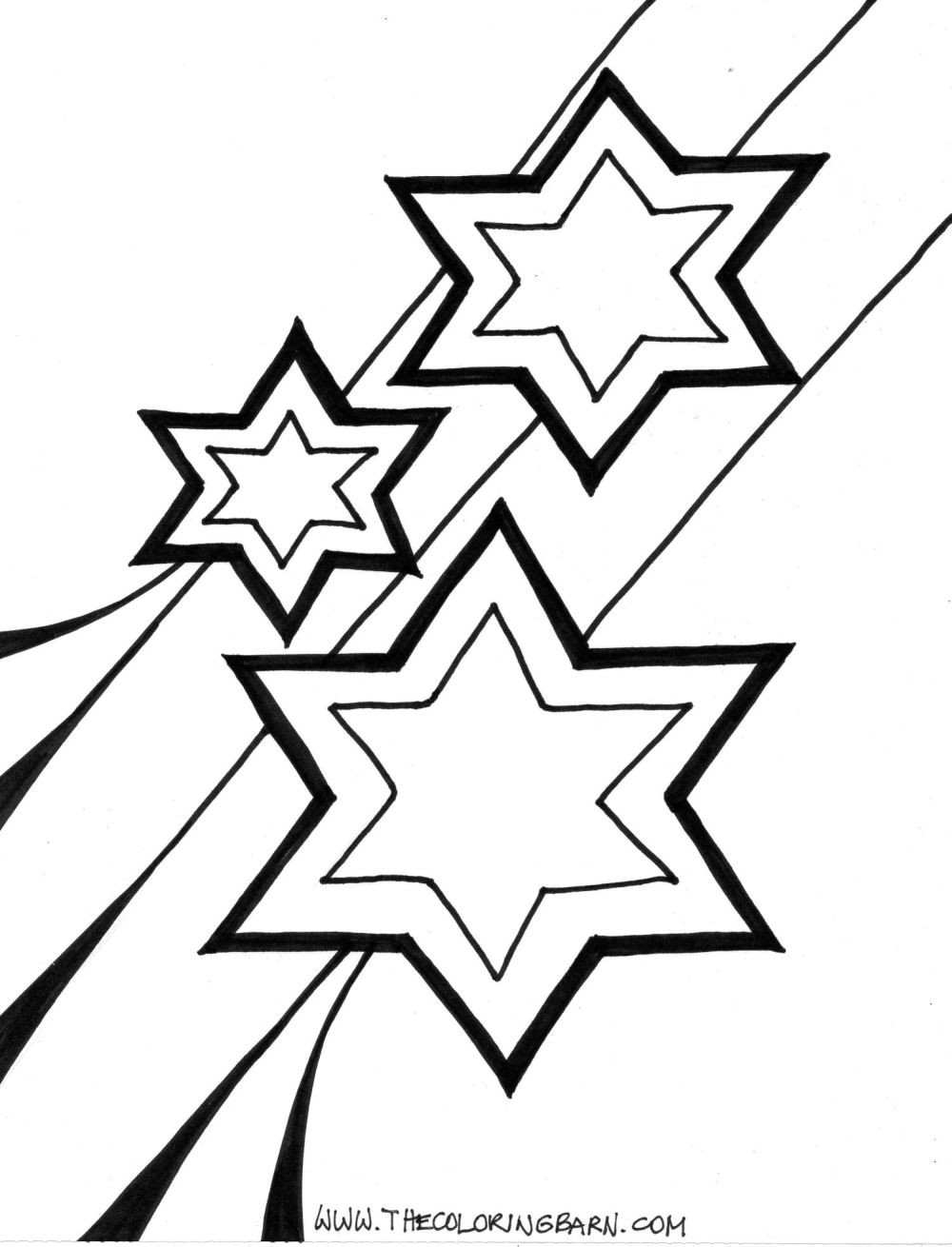 Coloring Book Pages Of Stars  Star Coloring Pages For Preschoolers Coloring Home