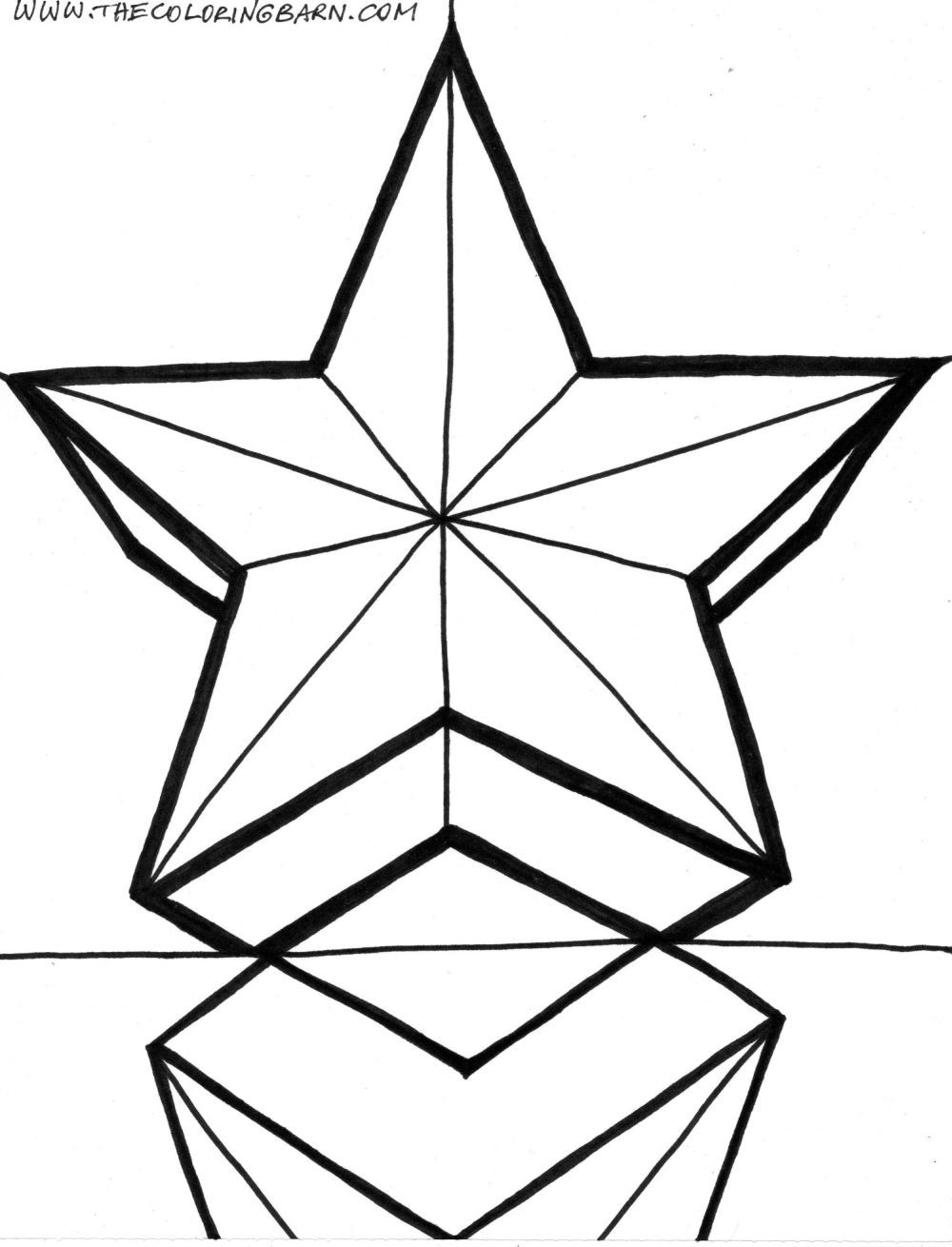 Coloring Book Pages Of Stars  Free Shooting Star Coloring Page Download Free Clip Art