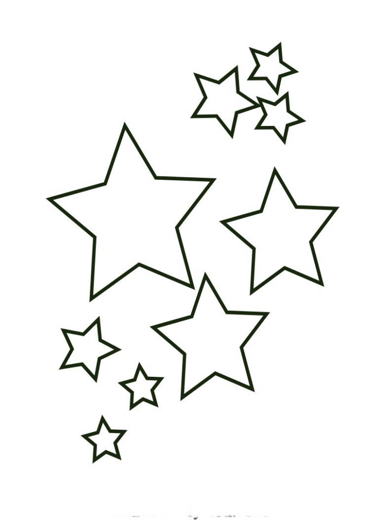 Coloring Book Pages Of Stars  Free Printable Christmas Star Coloring Pages free