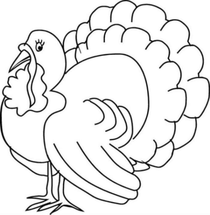 Coloring Book Pages Of Turkeys  Thanksgiving Turkey Coloring Pages for Free – Happy Easter