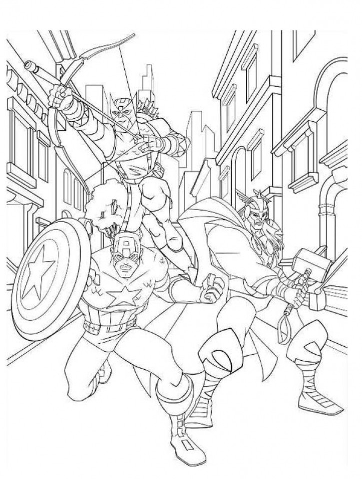 Coloring Pages Avengers  Get This Avengers Coloring Pages Boys Printable