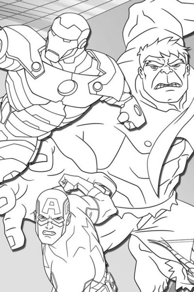 Coloring Pages Avengers  Get This Avengers Coloring Pages Free to Print