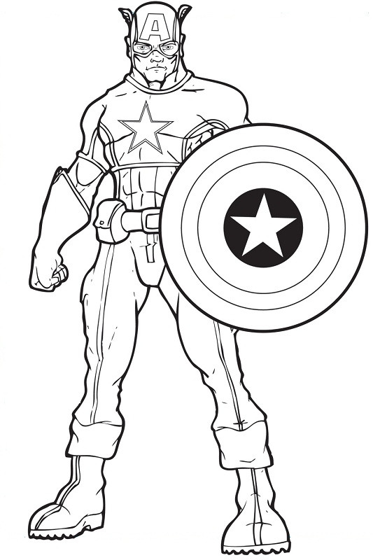 Coloring Pages Avengers  15 printable pictures of avengers page Print Color Craft