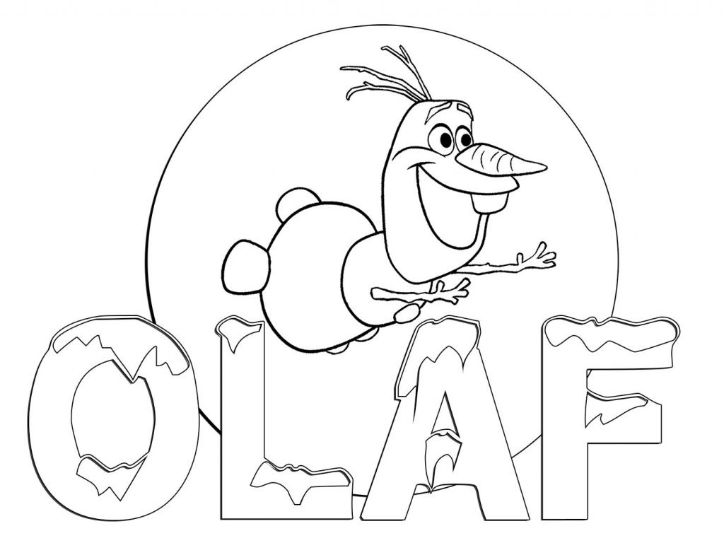 Coloring_Pages  Frozens Olaf Coloring Pages Best Coloring Pages For Kids