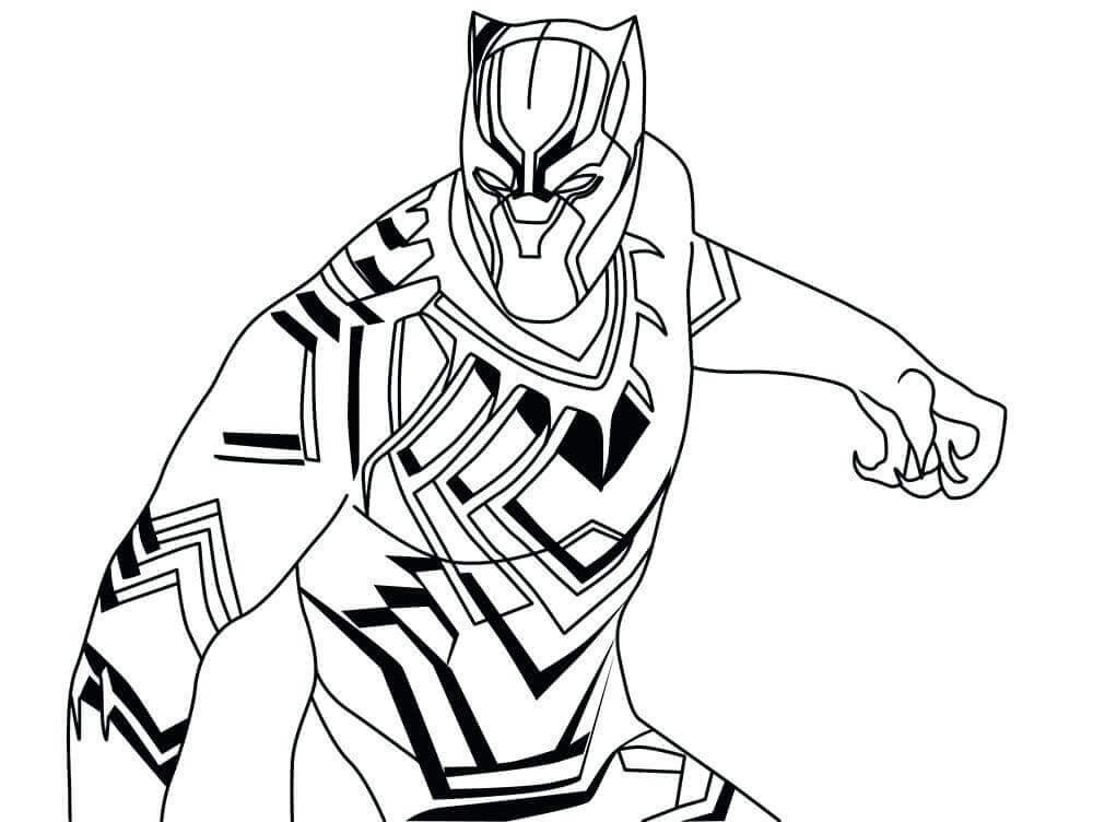 Coloring Pages Black Panther  20 Free Printable Black Panther Coloring Pages Coloring