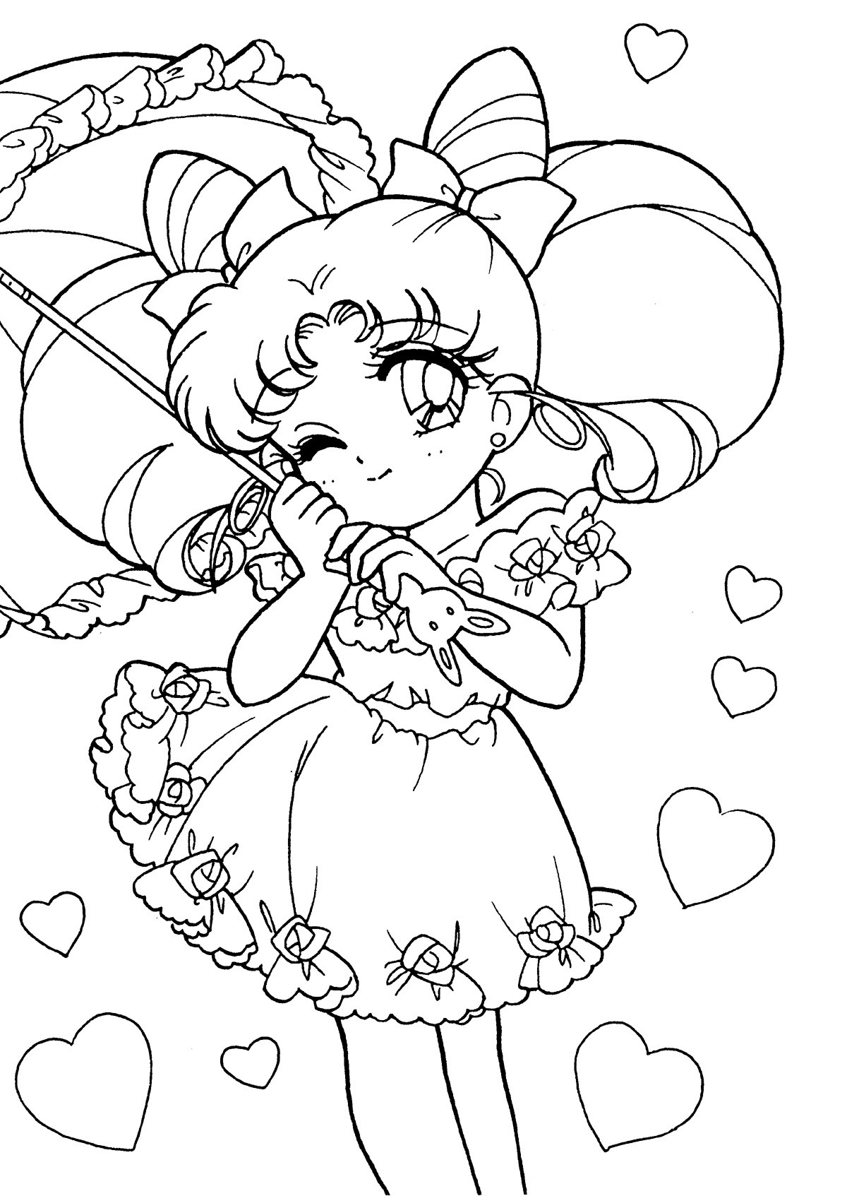 Coloring Pages Com  Sailor Moon Coloring Pages coloringsuite