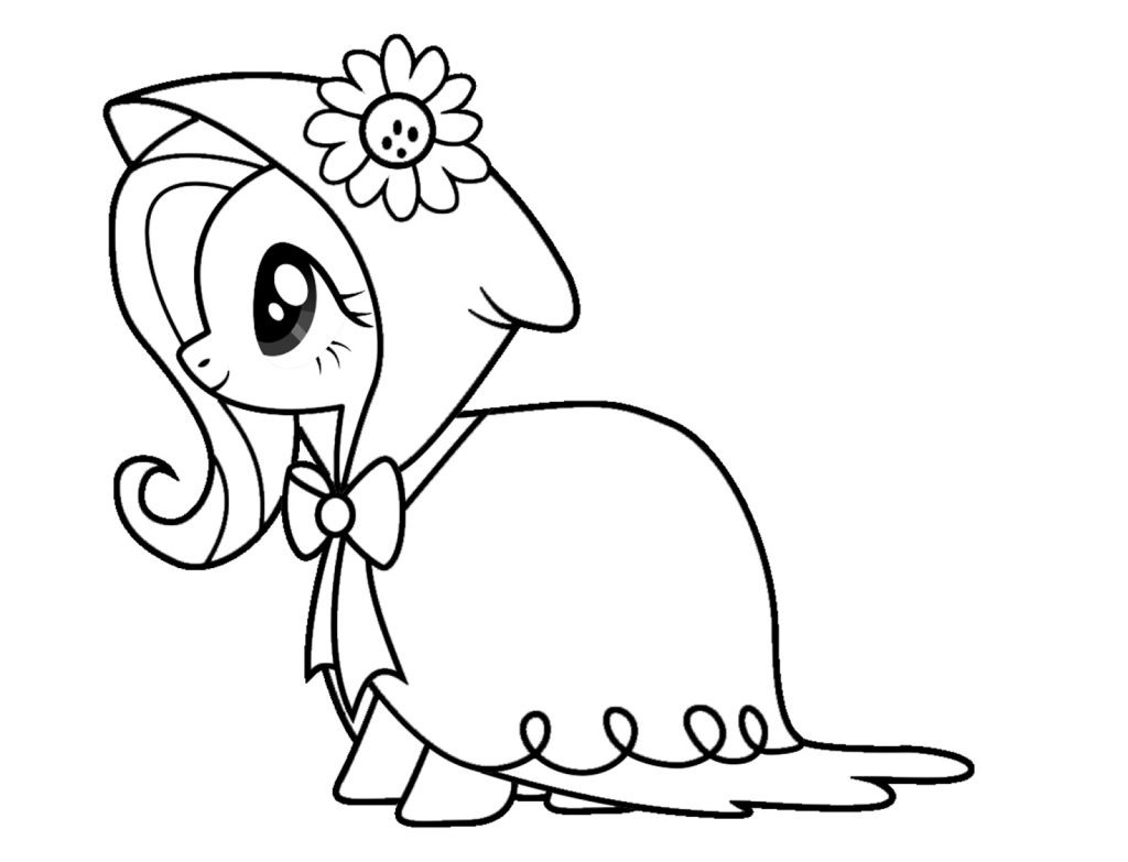Coloring_Pages  Fluttershy Coloring Pages Best Coloring Pages For Kids