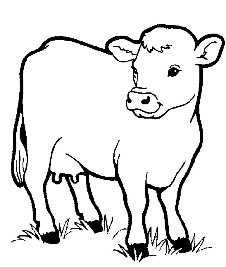 Coloring Pages Farm Animals  Farm Animal Coloring Pages Free Farm Animals Coloring