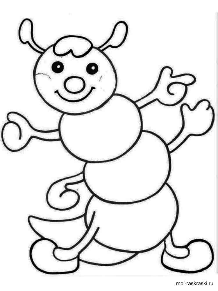 Coloring Pages For 4 Year Olds  Coloring pages for 3 4 year old girls Free Printable