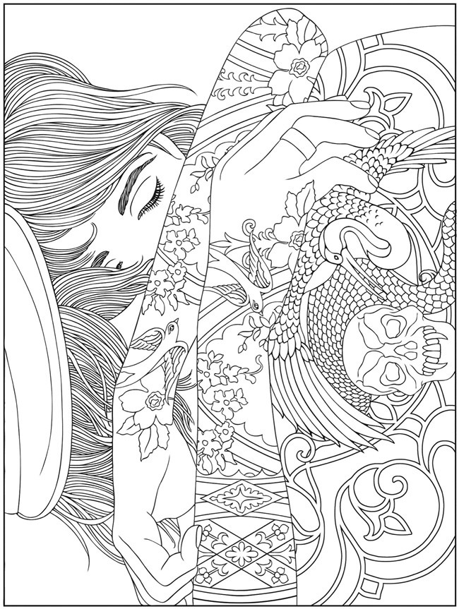 Coloring Pages For Adults Difficult  Hard Coloring Pages for Adults Best Coloring Pages For Kids