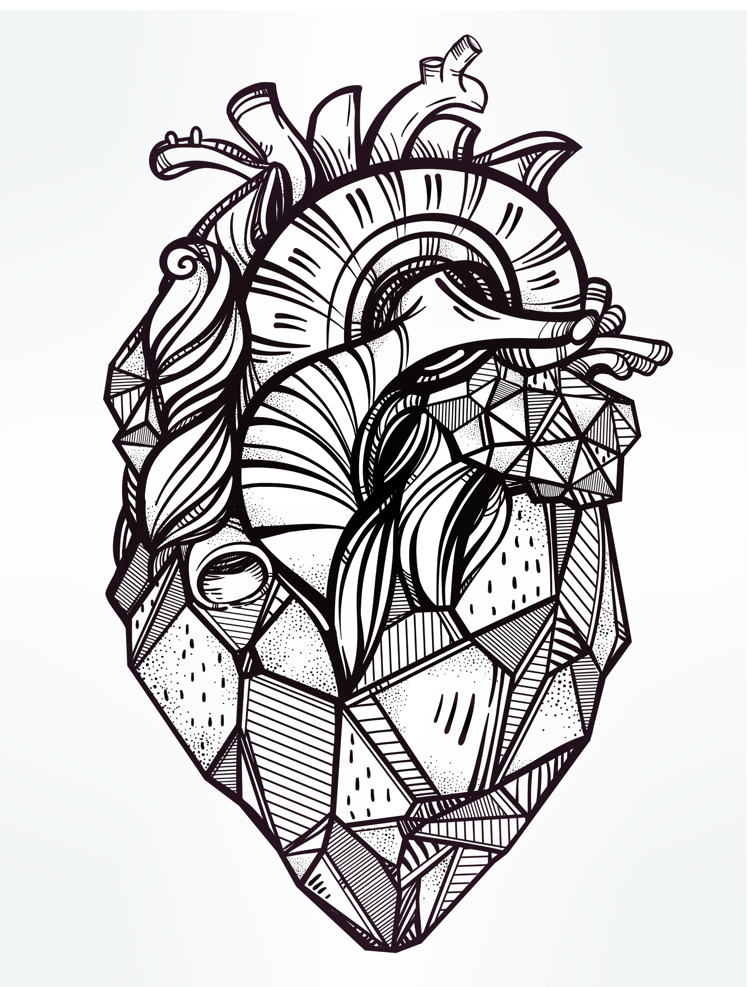 Coloring Pages For Adults To Print  20 Free Printable Valentines Adult Coloring Pages Nerdy