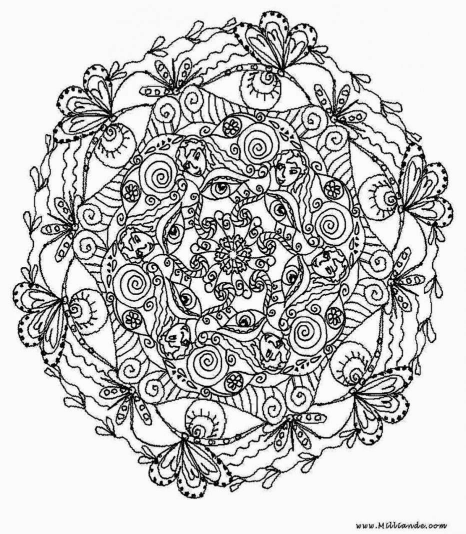 Coloring Pages For Adults To Print  Printable Coloring Pages For Adults