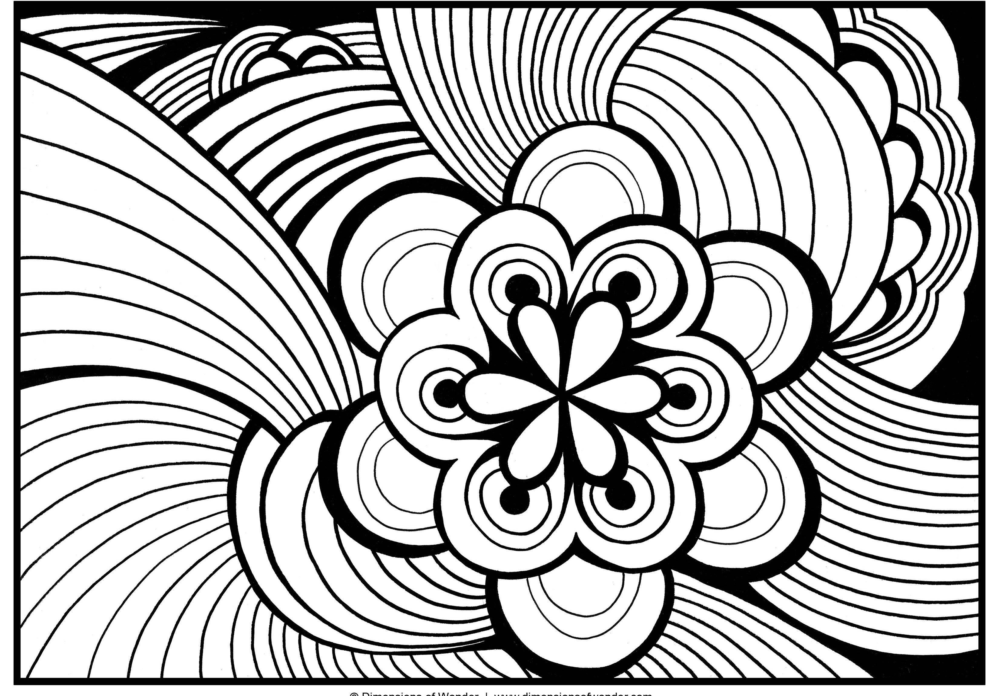 Coloring Pages For Adults To Print  Free Printable to Color for Adults 51 Coloring