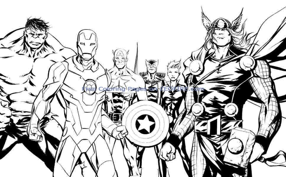 Coloring Pages For Boys Marvel  marvel captain america coloring pages for kids Gianfreda