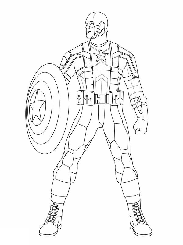 Coloring Pages For Boys Marvel  Marvel Coloring Pages Best Coloring Pages For Kids
